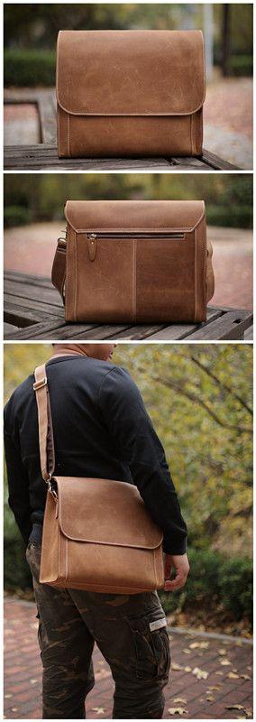 Men Messenger Bag/ Crossbody Shoulder Bag