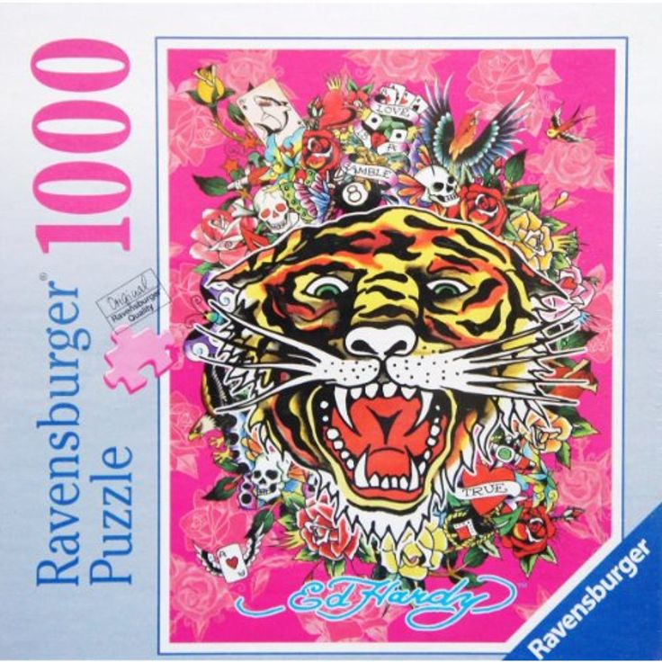 Ravensburger Tattoo Art 1000 Piece Jigsaw Puzzle MADE IN