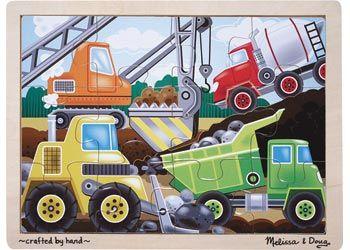 M&D - Construction Site Jigsaw - 12pc