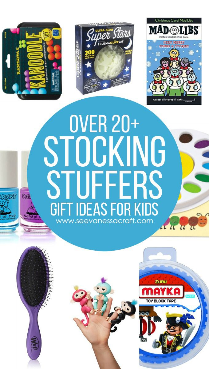 Over 20+ Holiday Stocking Stuffer Ideas for Kids