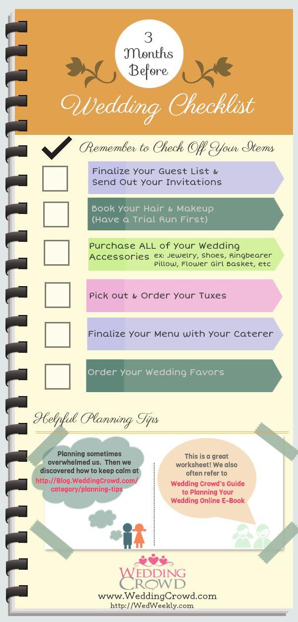 50 best Wedding Planning Checklists for Brides images on Pinterest ...