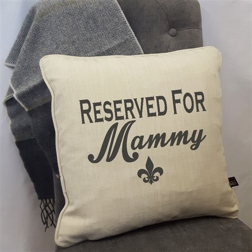 Personalised Cushion for Mother's Day. A luxury cushion printed specially for your Mam. WowWee.ie | €40