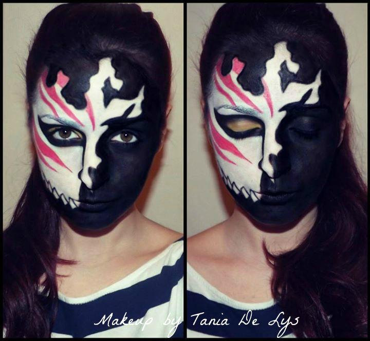 Bleach kurosaki ichigo mask makeup