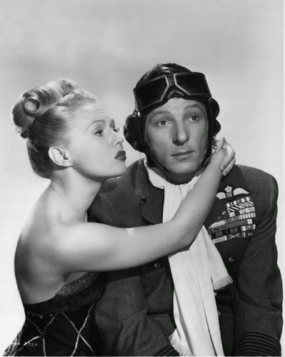 "Vintage Glamour Girls: Virginia Mayo & Danny Kaye in "" The Secret Life Of Walter Mitty """