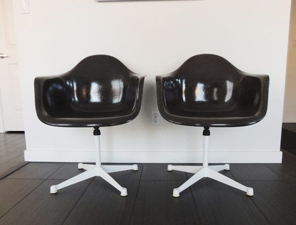Eames upholstered shell chair restore DIY s Do it yourself