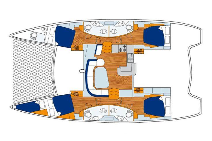 Sunsail 464 - 4 Cabin Catamaran Yacht | Sunsail USA