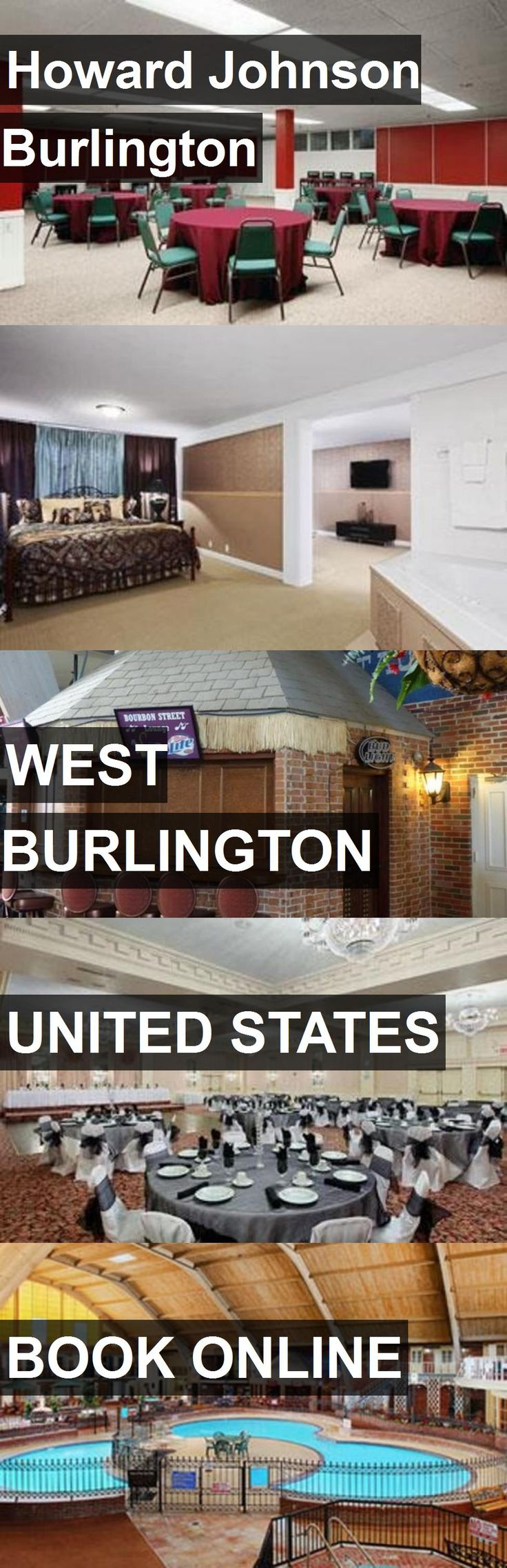 Hotel Howard Johnson Burlington in West Burlington, United States. For more information, photos, reviews and best prices please follow the link. #UnitedStates #WestBurlington #travel #vacation #hotel