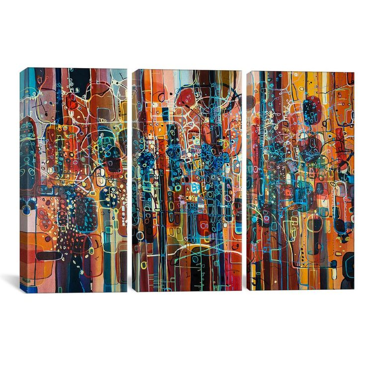 icanvas wild red by rebecca moy canvas wall art multi on icanvas wall art id=65121