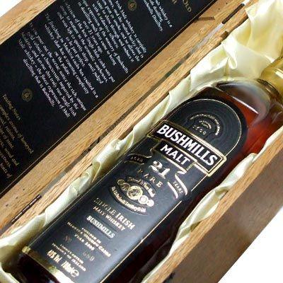 World's Best Irish Whiskey: The Bushmills 21 Years Aged Malt Irish Whiskey