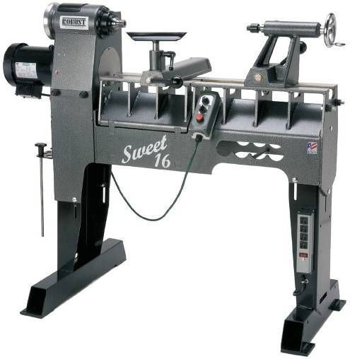 Robust Sweet 16 Adjustable Wood Lathe at Woodworker's Emporium