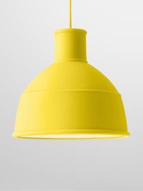 Unfold pendant - yellow