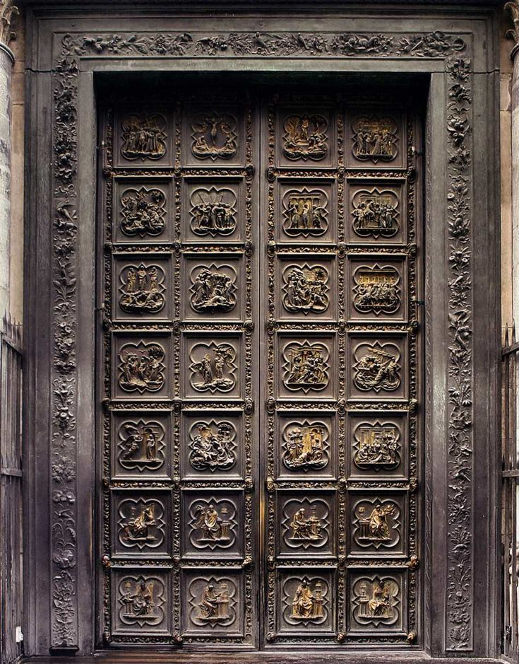 North Door by Ghiberti Florence Baptistry & The 19 best Baptistry doors images on Pinterest   Florence Lorenzo ...