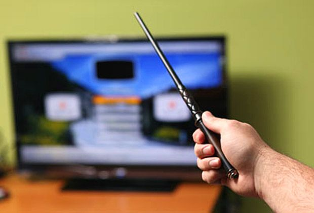 Magic Wand Remote Control - Take My Paycheck | The coolest gadgets, electronics, geeky stuff, and more! Shut up and take my money!