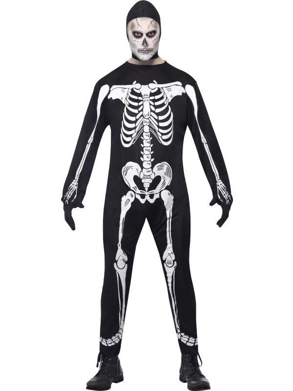 Skjelett Kostyme - Halloween kostyme til voksne
