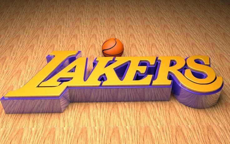 Imagen de Los Angeles Lakers Logo 3D