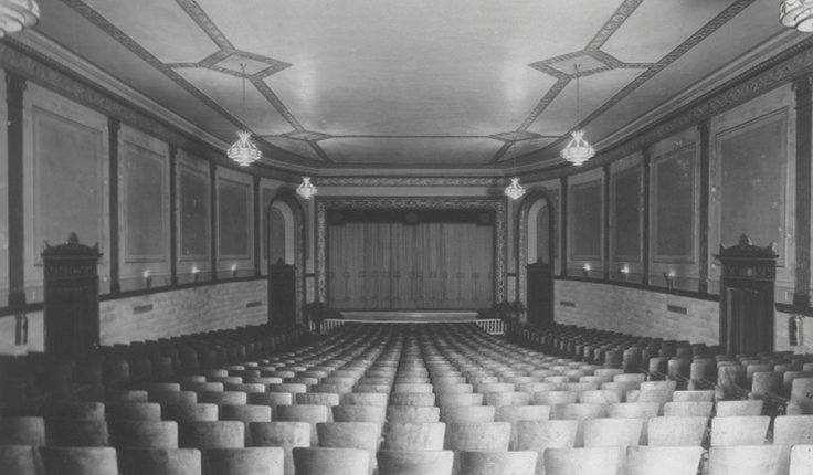 This is what the theatre looked like in 1929.