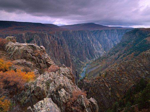 9 Reasons to Visit Colorado That Aren't Pot Tourism Photo: Black Canyon of Gunnison National Park, Colorado