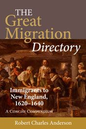 The Great Migration, A Survey of New England: 1620-1643 - Books