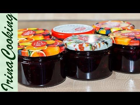 (52) ВАРЕНЬЕ (ЖЕЛЕ) из ЧЕРНОЙ СМОРОДИНЫ на зиму | Jelly Blackcurrant- Vitamins for Winter Time - YouTube