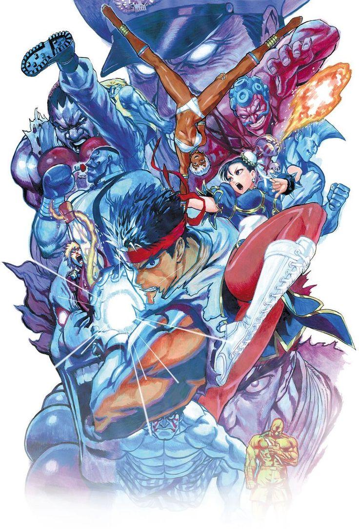 Yusuke Murata - Street Fighter V, Novel cover