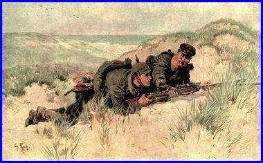 Der Krieg 1914-15 in Wort und Bild  Der rat des Alten  Georg Karl Koch 1857-1930 Germany