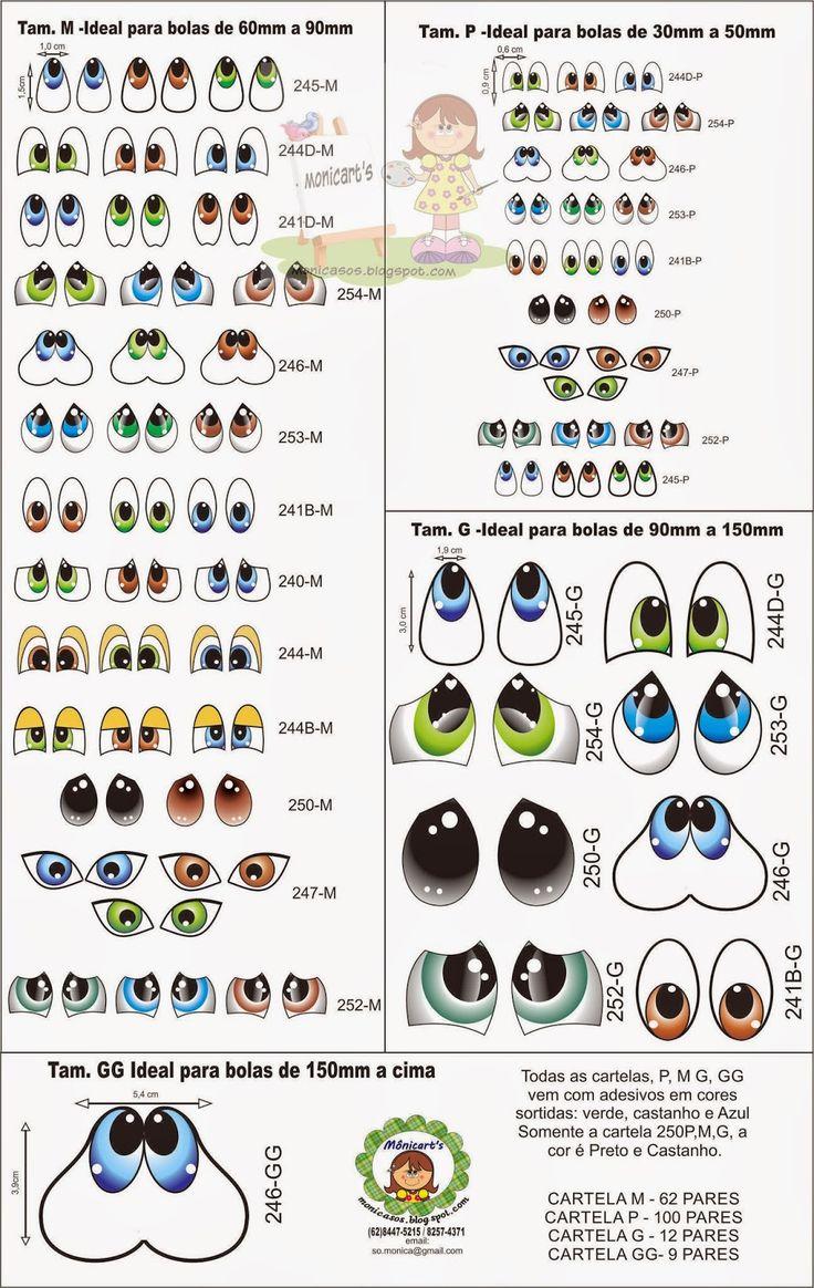 olhos diversos