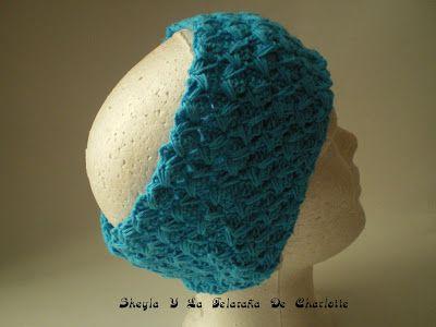 Sheyla Y La Telaraña De Charlotte: Diademas a crochet
