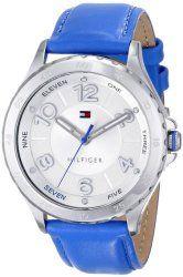 Tommy Hilfiger Women's 1781401 Analog Display Quartz Blue Watch