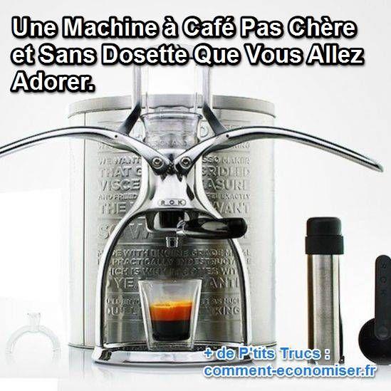 Saviez-vous qu'il existait une machine à café pas chère qui fonctionne sans dosettes ? Cette machine à café s'appelle Rok. Elle a le gros avantage d'être manuelle et écologique.  Découvrez l'astuce ici : http://www.comment-economiser.fr/machine-a-cafe-pas-cher-et-sans-dosette-expresso.html?utm_content=buffer3ba4f&utm_medium=social&utm_source=pinterest.com&utm_campaign=buffer