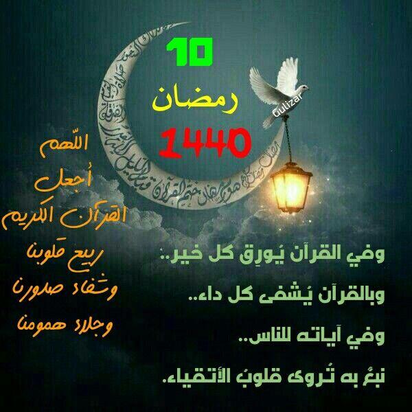 وفي القرآن ي ور ق كل خير وبالقرآن ي شفى كل داء وفي آياته للناس نبع به ت روى قلوب الأتقياء الل هم أجعل القرآن الكريم ربيع قل Ramadan Body Celestial