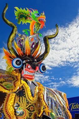 Acabo de compartir la foto de Milton Cesar Rodriguez Triviños que representa a: Diablada