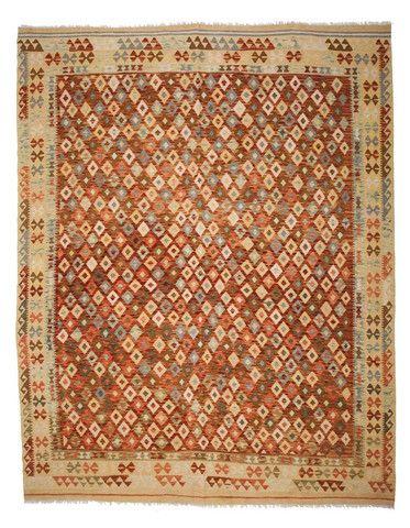 kilim - Kilim Afegão 295x243 cm.