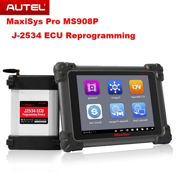 Autel MaxiSys Pro MS908P Car Bluetooth/WIFI Diagnostic / ECU Programming Tool with J-2534 System Update Online Multi-Languages