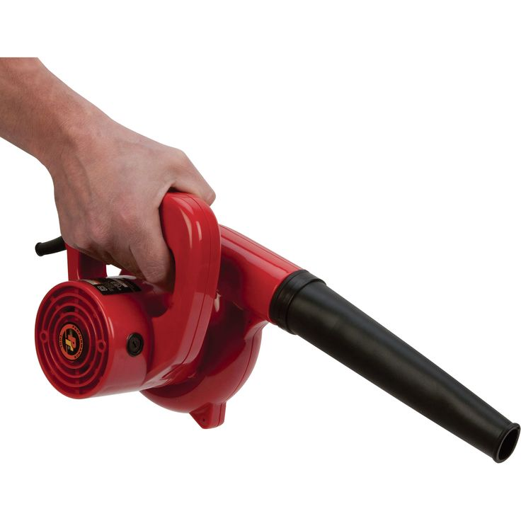 Sawdust Blower System : Performance tool watt garage shop blower model