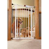 Found it at Wayfair - Extra Tall Pet Gate with Door