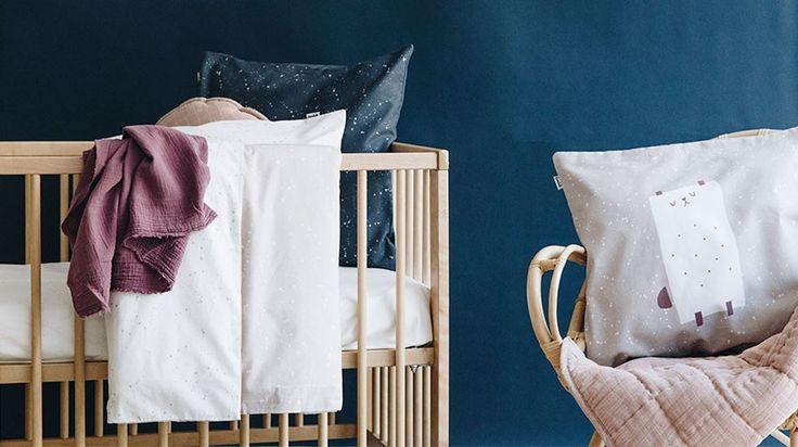 Lookbook Funda Nórdica Cuna Cosmos Rosa. Little baby room. Baby room inspiration #rooms for babies.
