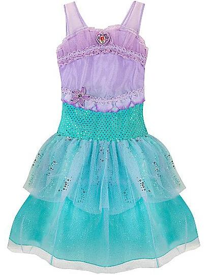 Disfraz Sirenita Disney / Vestido Niña Princesa Ariel