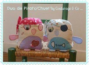 Tuto en français Doudou chouette pirate Pirat'o'chuet - Couturage & Co