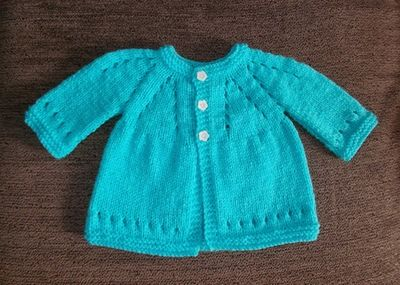 Knitting for baby is always so rewarding. The Sophisticated Baby Cardigan is the cardigan knitting pattern that is a great starting point for knitters of all skill levels. If you're looking for a baby shower gift idea, cast on and learn how to knit a sweater made with baby in mind.