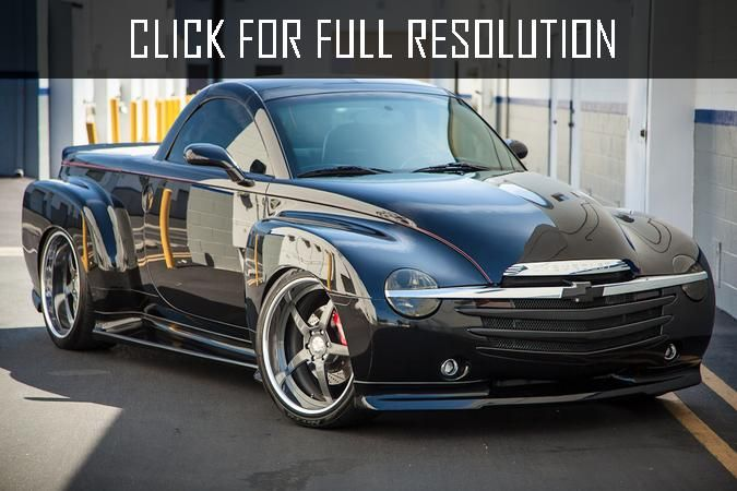 2017 Chevrolet Ssr Photo 3 Chevrolet Ssr Chevy Ssr Chevrolet