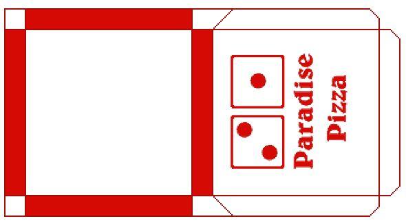 printable mini pizza box template 2