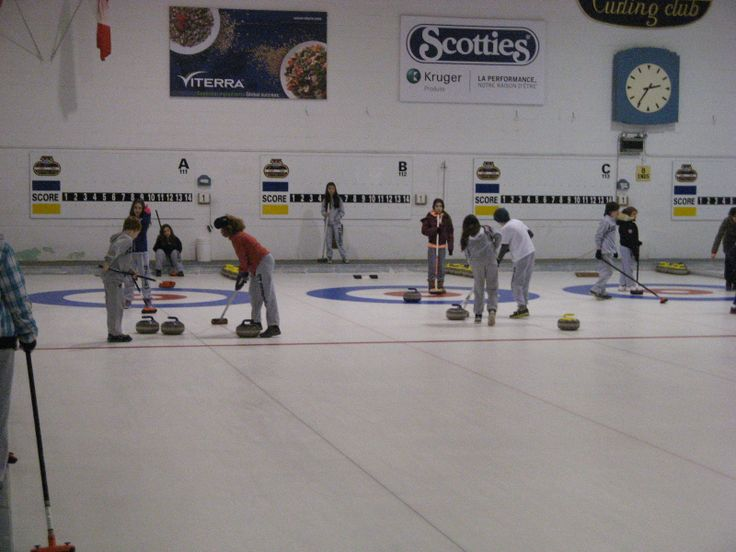 That's right- our students are learning to curl.