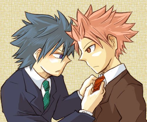 Fairy Tail Natsu And Gray Cute 54 best Gray x ...