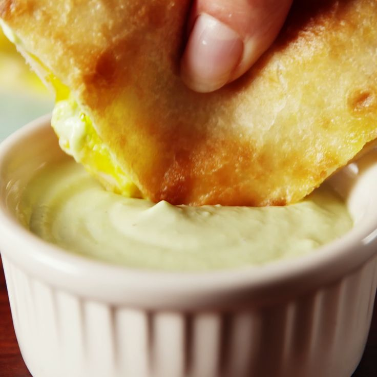 Avocado makes this super creamy with less guilt.
