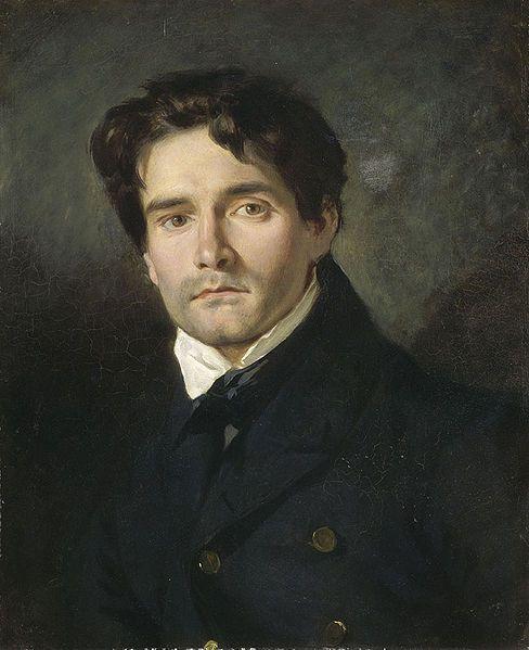 Eugene Delacroix, Portrait Leon Riesener