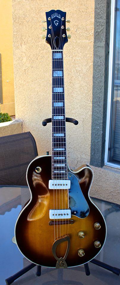 1955 Guild Aristocrat GuitarsBass GuitarsElectric GuitarsGuitar StandGuitar AmpJazz GuitarGuitar RoomGuitar CollectionGuitar Players