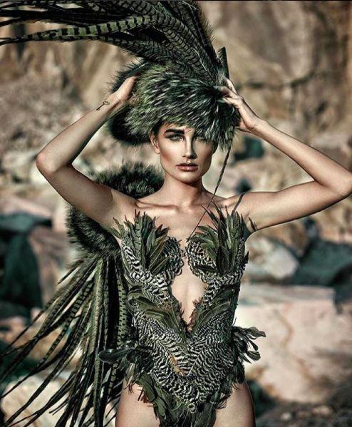 Model: Angeline Suppiger                Photographer: Pascal Heimlicher #zipettmagazine