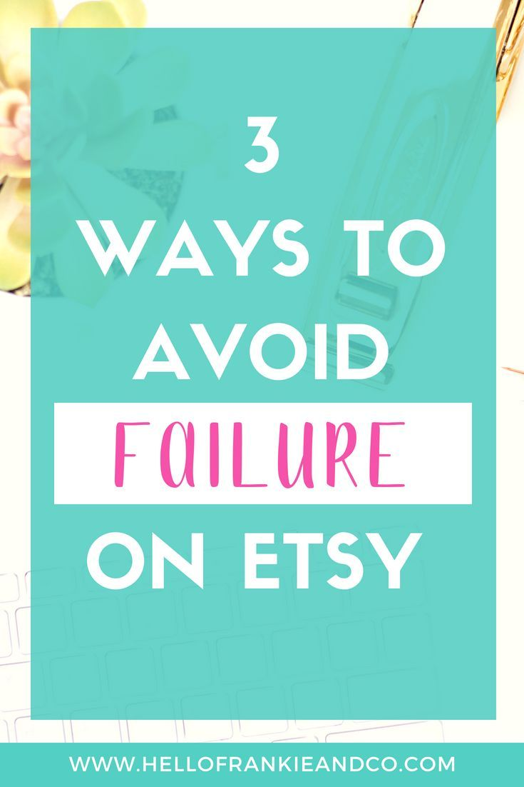 3 Major Mistakes Etsy Ers Are Making Business Tips Pinterest Er And