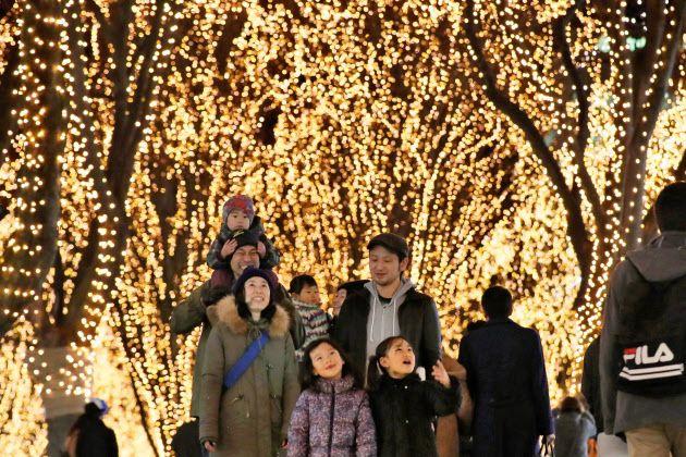 (窓)◎…仙台市の冬を光の並木道で彩る「SENDAI光のページェント」が9日、開幕した。ケヤキ並木約700メートルに約6  :日本経済新聞