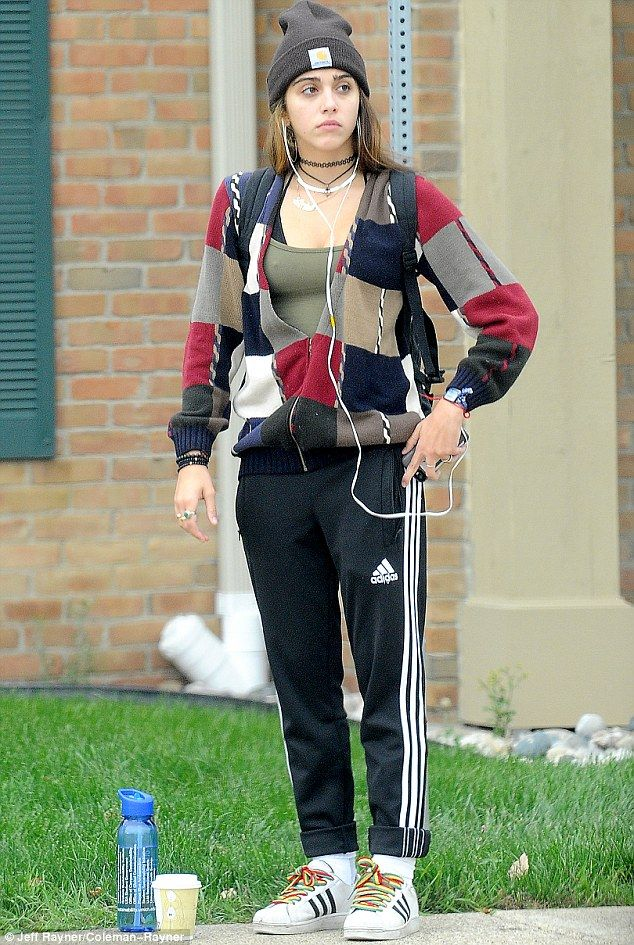 She's no diva!: The 17-year-old daughter of Madonna, Lourdes Leon, was comfortably dressed...